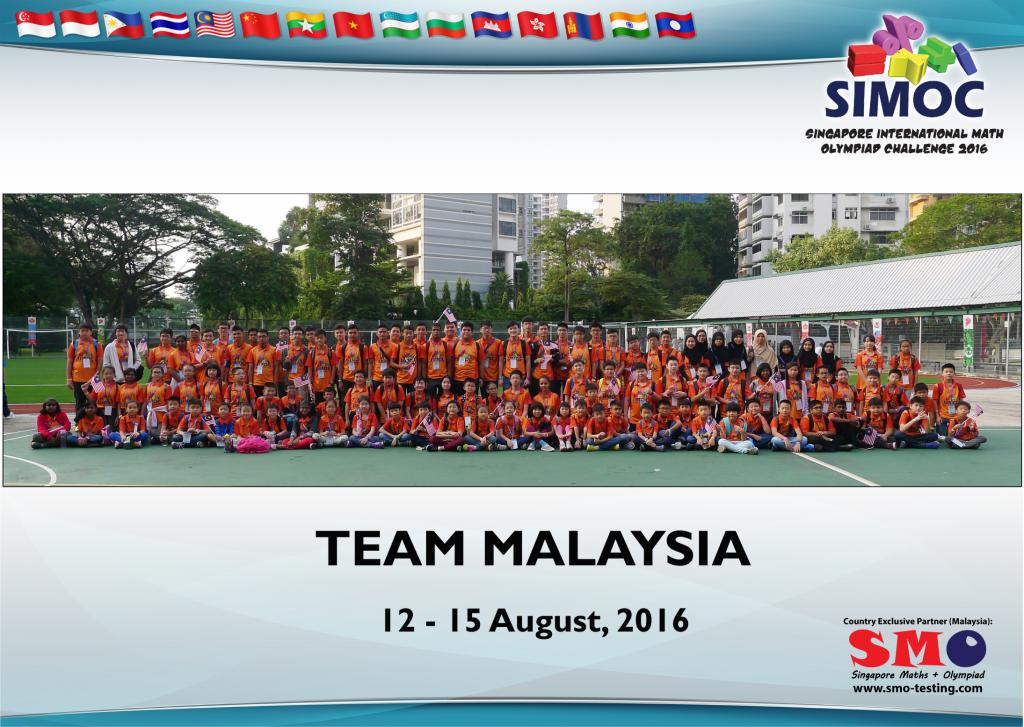 SIMOC 2016 - Team Malaysia