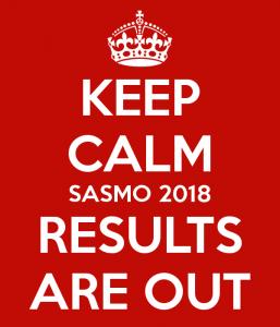 SASMO 2018 Results